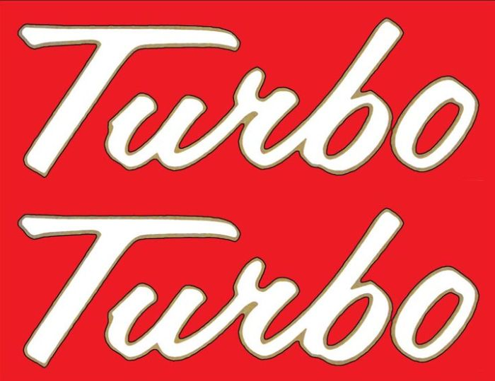 Farmall 1206 Turbo Decal Set