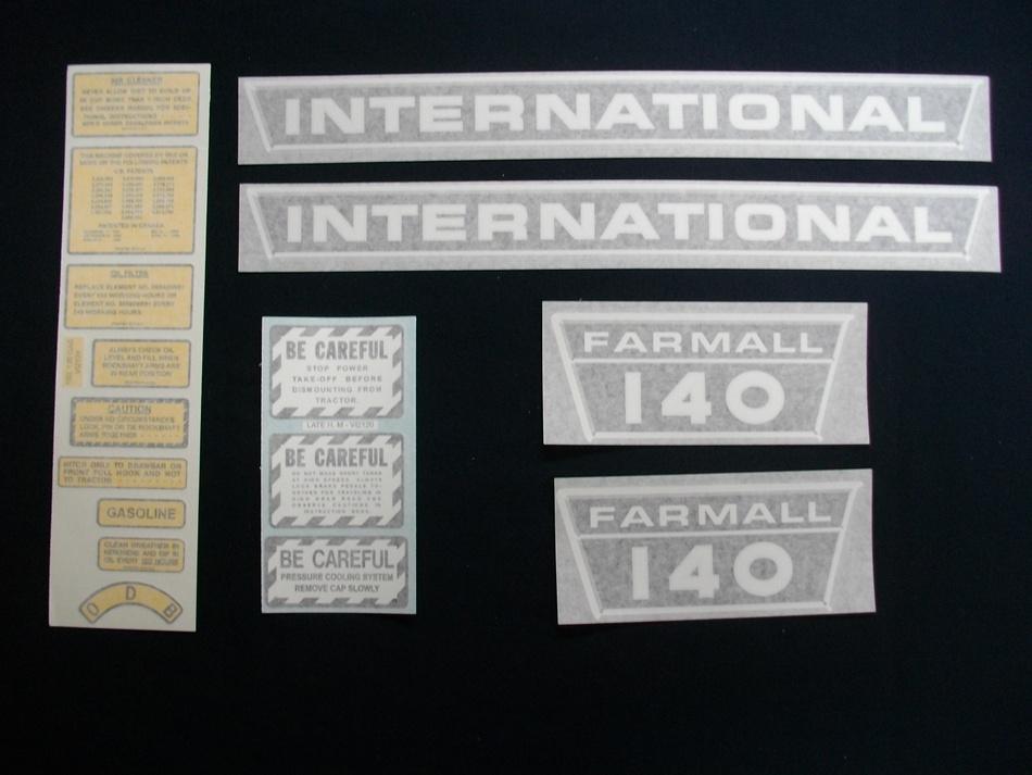Decal Set Farmall 140