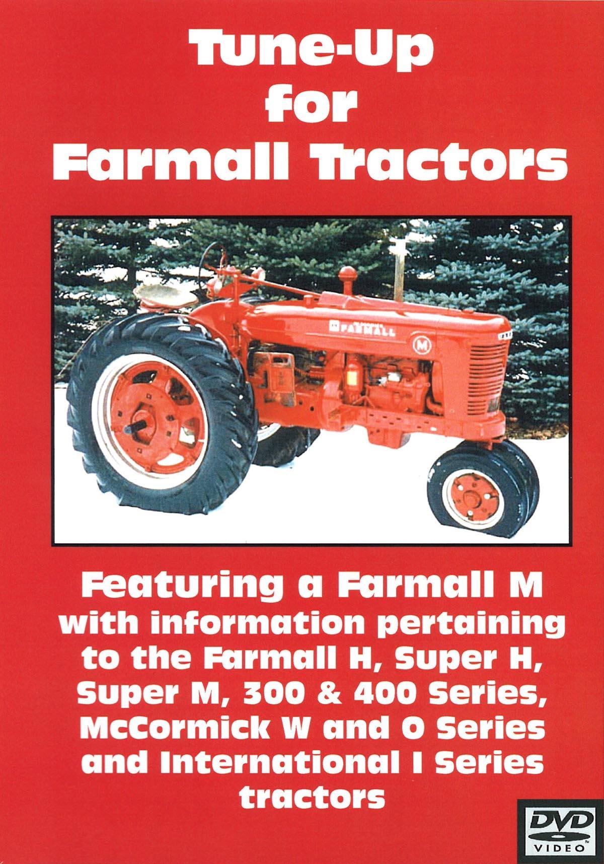 FARMALL H, M, Super H & M, 300, 400 TUNE UP VIDEO (DVD)