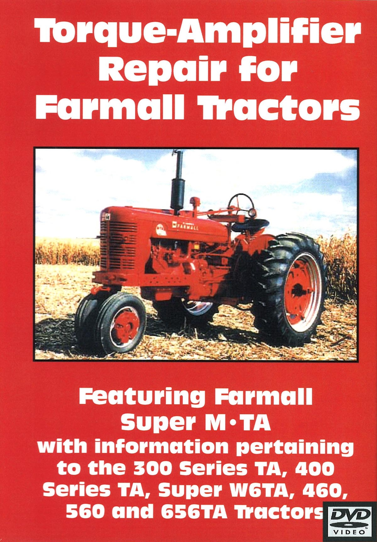 FARMALL TORQUE-AMPLIFIER REPAIR VIDEO (DVD)