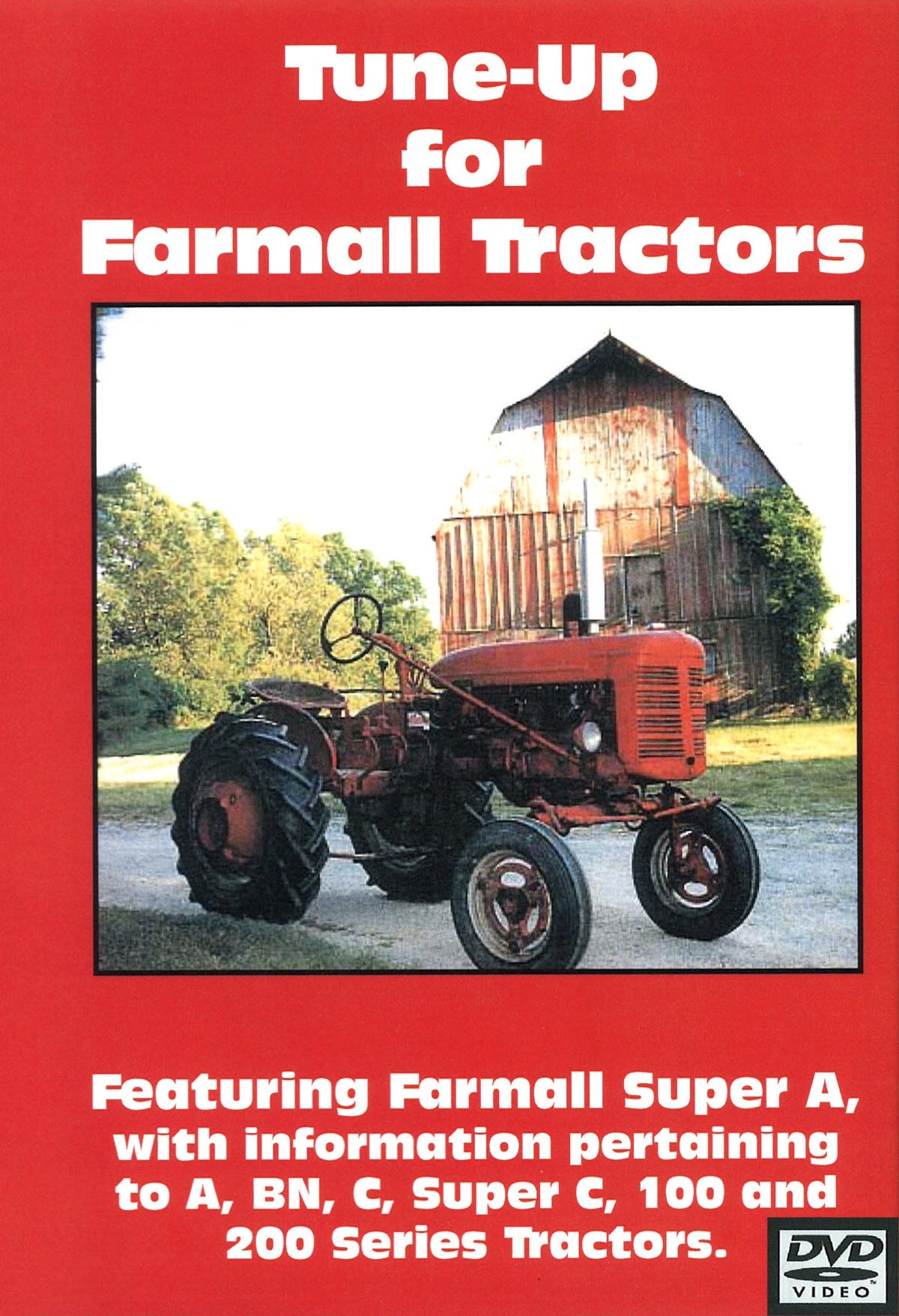 FARMALL A TUNE-UP VIDEO (DVD)