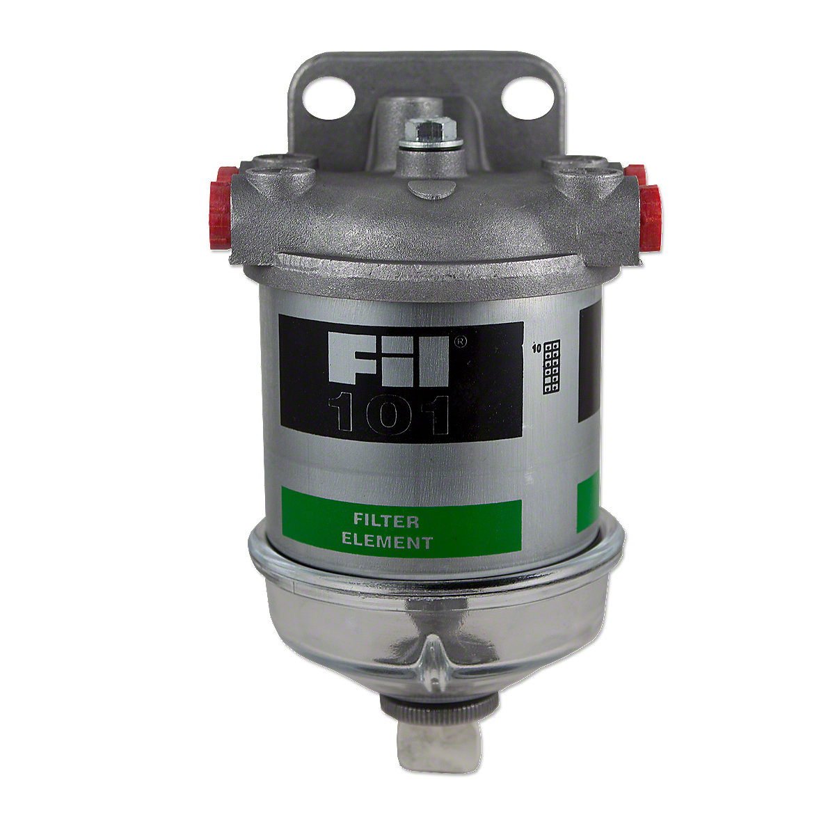 Diesel Single Fuel Filter Assembly With Glass Bowl