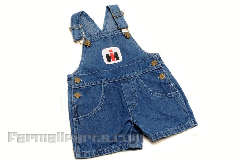 Baby Shortalls IH Logo-