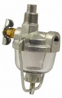 [EQHS_1162]  Sediment Bowl Fuel Filter Strainer - Farmall CUB, CUB LO-BOY, A, B, BN,  SUPER A, SUPER | Sediment Bowl Fuel Filter |  | Farmall Parts