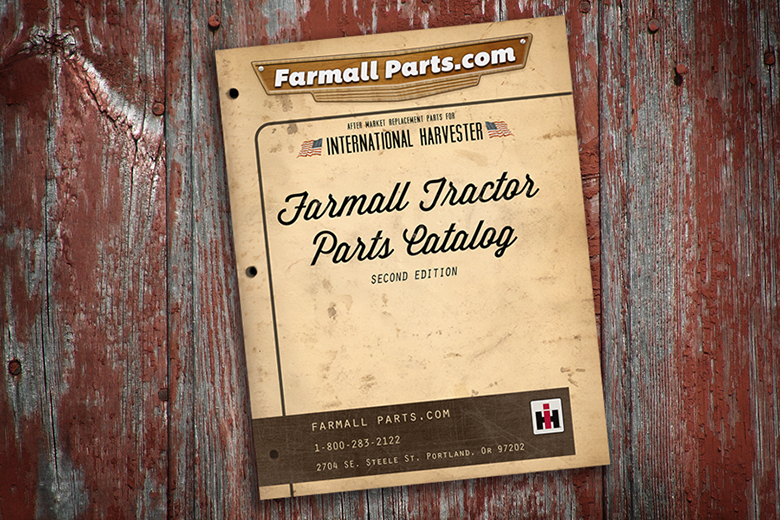 Farmall Catalog Free - $6.95 for shipping.