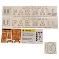 International Harvester M Complete Decal Kit Fits Models: M