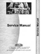 This is a brand new Service Manual for a Farmall Super MD. (Chassis only) We also have the engine service manual, see related parts.