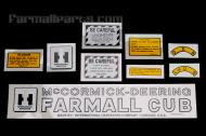 This decal has the McCormick-Deering on top and was used until at least July 1949.