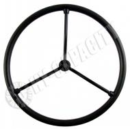 3 Spoke 17-5/8 Steering Wheel With 3/4 Keyed Shaft For Farmall 100, 130, 200, 230, 300, 400, C, H, HV, M, MD, MDV, MV, Super, A, Super AV, Super C, Super H, Super M, Super MTA. Replaces IH PN#: 29118DC