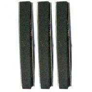 4 Medium texture replacement stones.  Stones are sold in sets of three with cotter pins.
