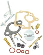 COMPLETE CARBURETOR REPAIR KIT (IH CARB) --- MAKE SURE THAT YOUR CARBURETOR MANUFACTURER NUMBER IS IN THE LIST THIS FITS!!!!! KIT CONTAINS: CHOKE & THROTTLE SHAFTS, NEEDLE & SEAT VALVE, FLOAT LEVER PIN, MISCELLANEOUS PLUGS & SCREWS, THROTTLE SHAFT SEALS & GASKETS --- Carburetor Manufacturer #: 50981DA, 50981DB --- International Applications: H, HV, 4 SERIES
