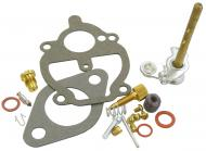 BASIC CARBURETOR REPAIR KIT --- MAKE SURE THAT YOUR CARBURETOR MANUFACTURER NUMBER IS IN THE LIST THIS FITS!!!!!KIT CONTAINS: THROTTLE SHAFT, NEEDLE & SEAT, FLOAT LEVER PIN, CHOKE & THROTTLE SHAFT SEALS, NEEDLE VALVE, ADJUSTMENT SCREW, GASKETS & INSTRUCTIONS. --- Carburetor Manufacturer #: 11115 --- International Applications: SUPER A, SUPER C