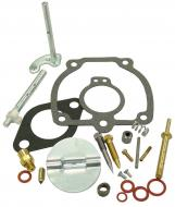 COMPLETE CARBURETOR REPAIR KIT (IH CARB) --- KIT CONTAINS: CHOKE & THROTTLE SHAFTS, NEEDLE & SEAT VALVE, FLOAT LEVER PIN, MISCELLANEOUS PLUGS & SCREWS, THROTTLE SHAFT SEALS & GASKETS FITS LISTED CARB WITH THROTTLE BODY: 8867DX SHAFT LENGTH = 3.314   CHOKE AND THROTTLE SHAFT GASKETS, NEEDLE VALV --- Carburetor Manufacturer #: 50983 --- International Applications: M, MV, 6 SERIES