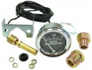 WATER TEMPERATURE GAUGE - 100 DEGREE - 280 DEGREE TEMPERATURE RANGE - 90 DEGREE POINTER SWEEP -6 FT CAPILLARY TUBE -LIGHTING & MOUNTING HARDWARE INCLUDED -USA MADE -MAY VARY FROM ORIGINAL APPEARANCE -CHROME BEZEL -Works Great on all Farmall models.