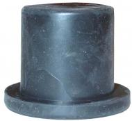 RUBBER BUSHING (TALL) FOR BATTERY BOX LIDS --- USA MADE --- International Applications: IH / FARMALL MODELS --- Replacement Part #: 51689D