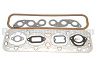 Our paper catalog has an error. This is the correct price! Gasket Set Head International Harvester IH M, Super M, 400, 450 3993007    International M, Super M, 400, 450 gas with 4\ or 4-1/8\ bore with a C264 or C281 engine  Set includes; governor housing, water outlet elbow, water outletthermostat housing, valve cover, push rod cover, governor throttle, govenor housing cover, magneto to adapter, head, carburetor mounting, intake & exhaust manifold, tappet access cover gasket