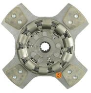 12\ Disc - 4 Pad, w/ 1-3/16\ 11 Spline Hub - Large Spring Center - Reman      Model Specific Notes    Product Specific Notes  1)  Used w/ 104497 PPA w/ Large Center Cast Plate   OEM Reference Numbers