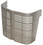 CENTER GRILLE SECTION W/SCREEN --- ONLY 17 TALL --- International Applications: A, SUPER A, EARLY A-1 (UP TO SN 356000), B, BN, C
