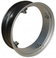 REAR RIM 8 X 24 --- 8 X 24 --- 4 LOOPS --- USA MADE --- 14-12 C-C LOOPS --- Fits: FARMALL A, SUPER A, B, BN, 100, 130, ---   Please check tractors dimensions closely. If you receive rims and they do not fit, we do not pay for return shipping.