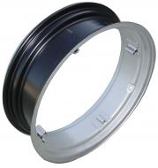 REAR RIM 7 X 24 4 LOOP --- 4 LOOPS --- 7 X 24 --- USA MADE --- 14-12 C-C LOOPS --- International Applications: CUB --- Replacement Part #: IH: 351428R91  Please check tractors dimensions closely. If you receive rims and they do not fit, we do not pay for return shipping.