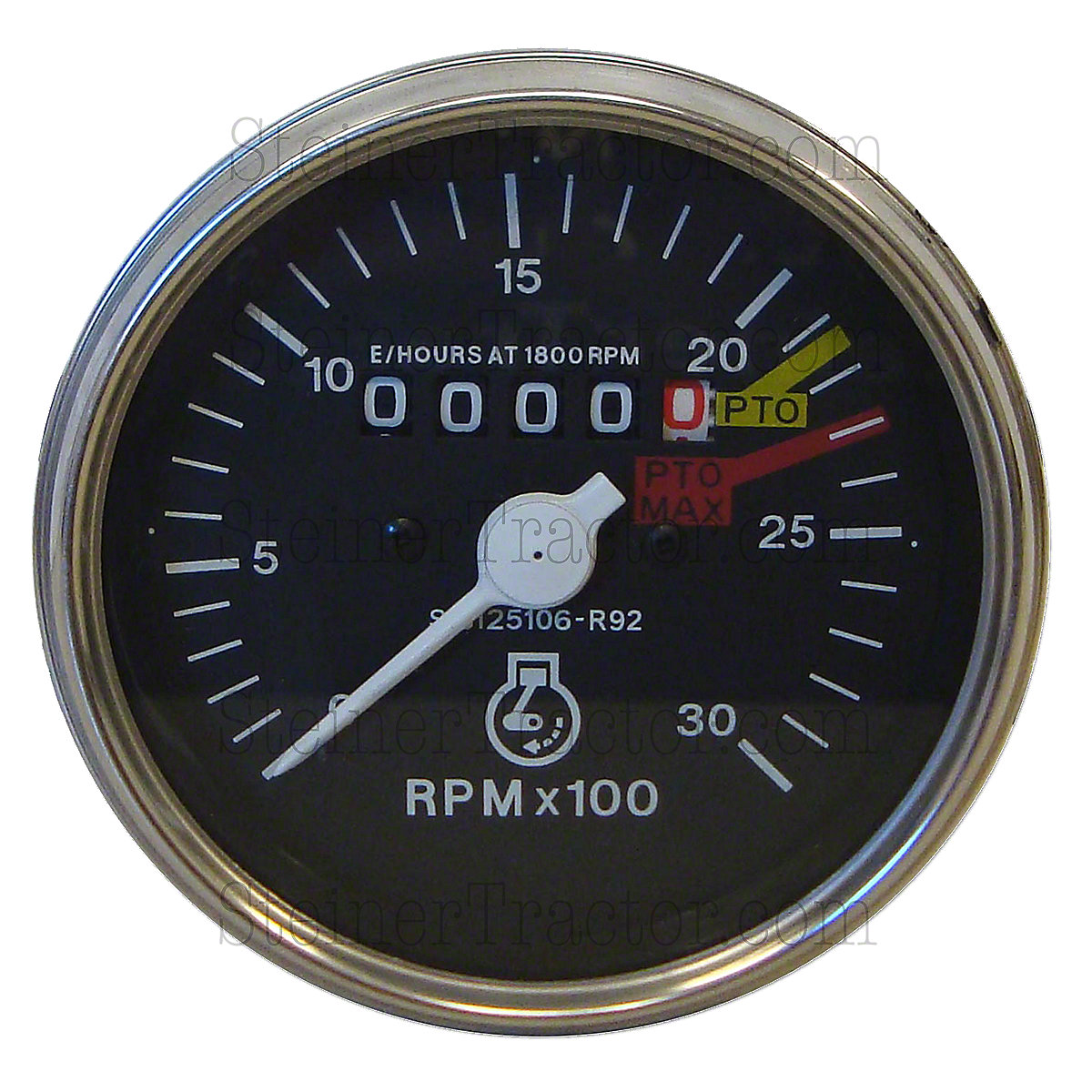 Tachometer Hour Meter For International Farmall: Hydro 84, 2400, 454, 646, 484, 485, 584, 585, 674, 684, 784, 785, 884, 885, Hydro 2500a Gas or Diesel W/SN#: 100001 and Up, 574 Hydro,