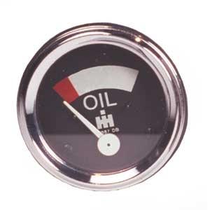 Oil Gauge - Farmall  B250, B275, B414, 276, 354, 434, 444