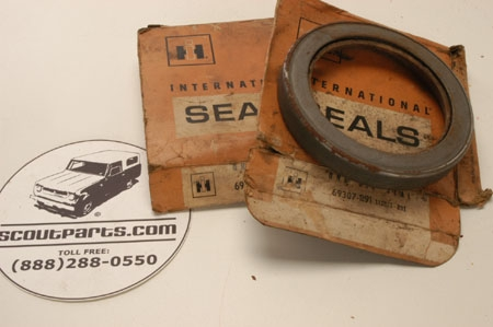 Oil Seals NOS Orginal Type Made Of Leather