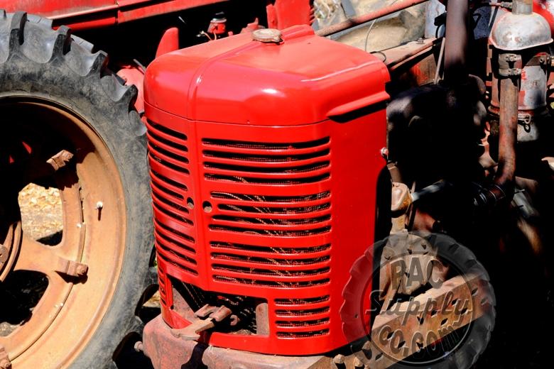 International Tractor Painting : Farmall red enamel paint cub a b c h m