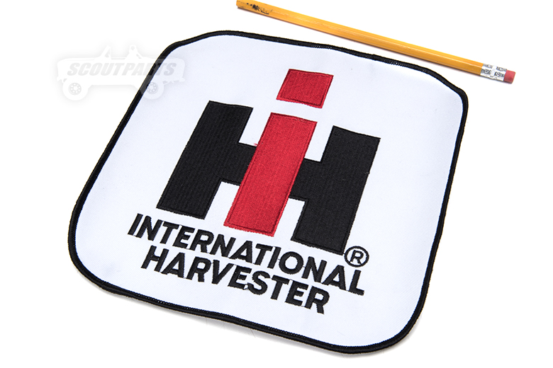 *8x8in. IH logo patch