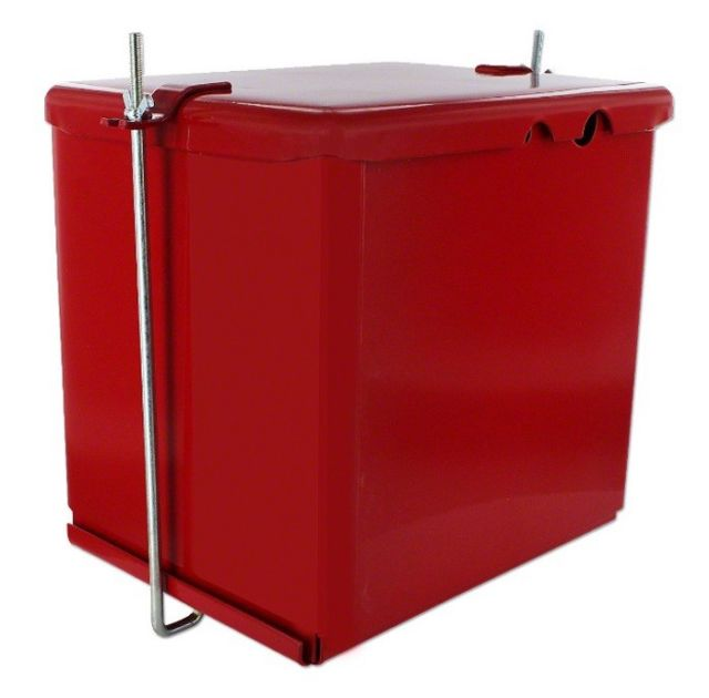 Premium Battery Box With Rear Light Mount - Cub