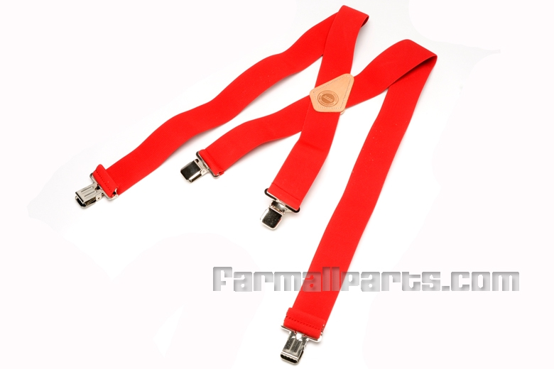 Red Farmall Suspenders-discontinued, please see others