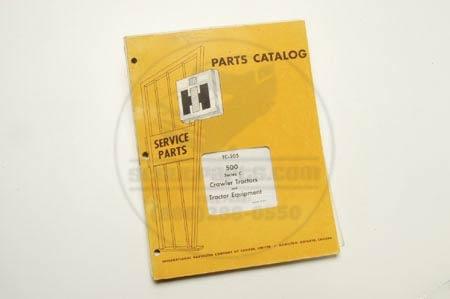 Parts Manual Catalog TC-205
